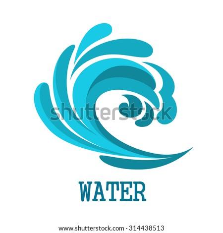 Surf Wave Stock Vectors Vector Clip Art Shutterstock