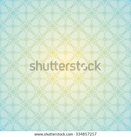 Blue elegant background. Vector illustration. Seamless pattern - stock vector
