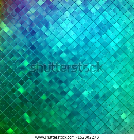Blue glitters on a soft blurred background with smooth highlights. EPS 10 vector file included - stock vector