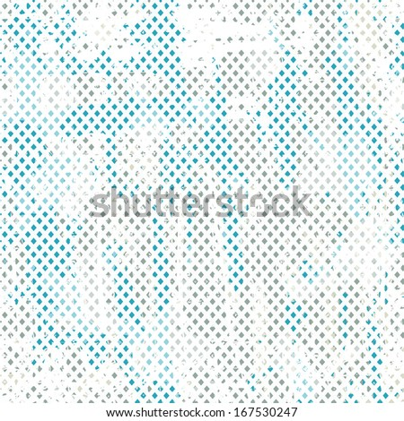 blue grunge seamless pattern - stock vector