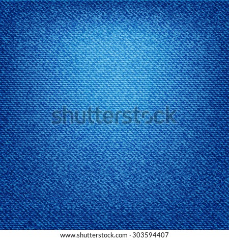 blue jeans texture - stock vector