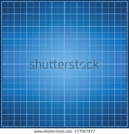 Blue print texture - stock vector