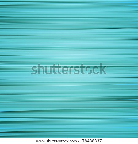 Blue stripes background, horizontal, vector - stock vector