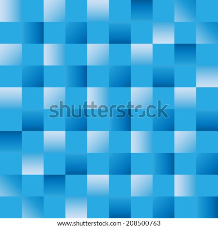 Blue Trap Gradient - stock vector
