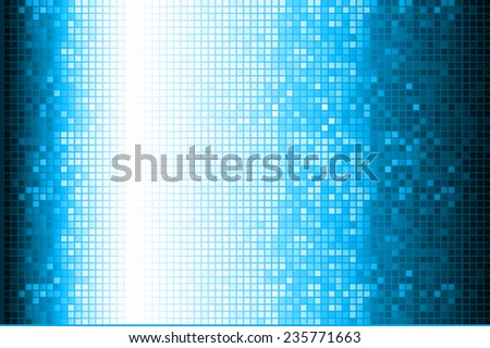 blue Vector abstract design. pixels mosaic background computer graphic website and internet.  - stock vector