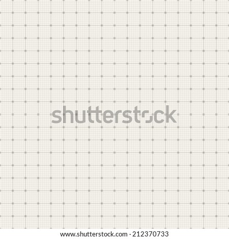 Blueprint grid background. Graphing paper for engineering in vector editable format EPS 10 - stock vector