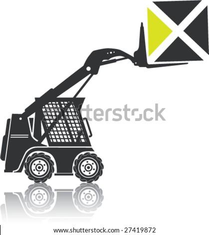 Bobcat Tractors Vector