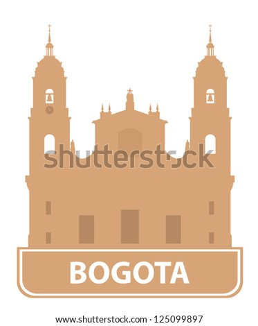 Bogota symbol - stock vector