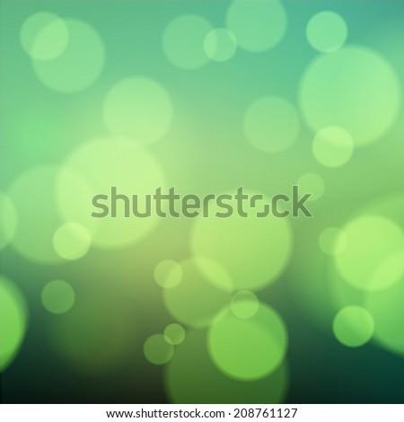 Bokeh Abstract Light Background - stock vector