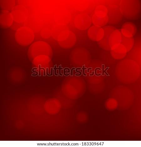 Bokeh background with defocused lights. Vector illustration EPS10 - stock vector
