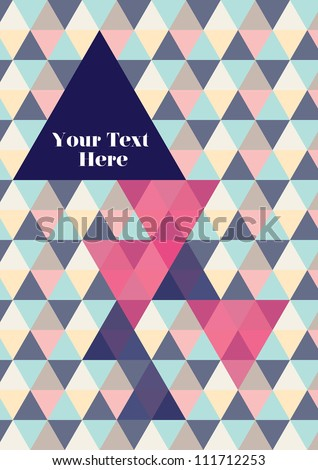 Book cover / Background design / Graphics / Layout / Template / Wallpaper - stock vector