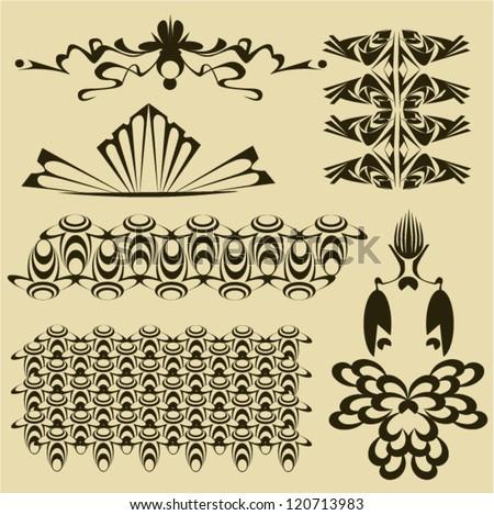 Book decorative ornament - stock vector