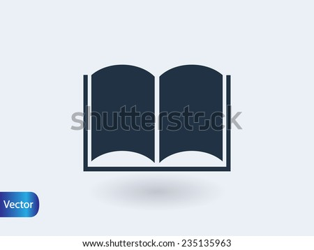 book icon - stock vector