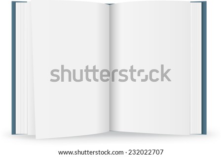 Book - Illustration - stock vector