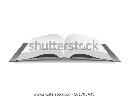 book vector - stock vector