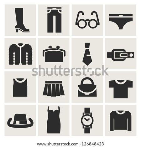 boutique - stock vector