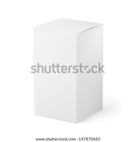 Box. Illustration on white background for creative design - stock vector