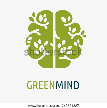 Brain, creation and idea icon and element. Vector illustration - stock vector