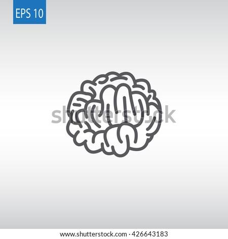 Brain icon, Brain icon eps, Brain icon vector, Brain icon illustration, Brain icon jpg, Brain icon picture, Brain icon flat, Brain icon design, Brain icon web, Brain icon art, Brain icon, Brain icon - stock vector