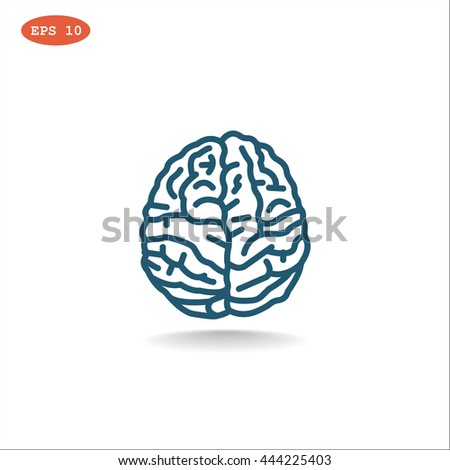 Brain icon, Brain icon eps, Brain icon vector, Brain icon illustration, Brain icon jpg, Brain icon, Brain icon flat, Brain icon design, Brain icon web, Brain icon art, Brain icon JPG, Brain icon image - stock vector