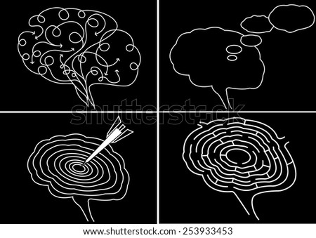 Brain Power - stock vector
