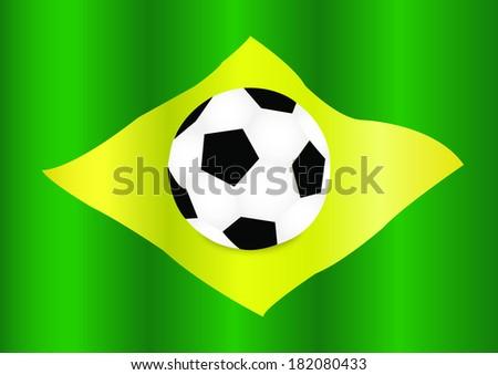 Brazilian ball  - stock vector