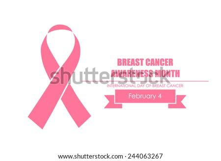 Breast Cancer Awareness cards design. Vector Illustration. - stock vector
