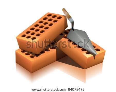 Brick - stock vector
