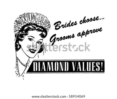 Brides Choose - Ad Header - stock vector