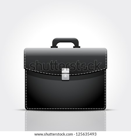 Brief case - stock vector