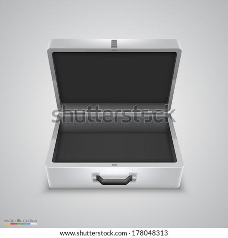 Open Briefcase Vector Briefcase Vector