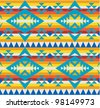 Bright colored seamless pattern - stock vector