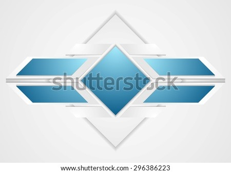 Bright corporate abstract background. Vector design - stock vector
