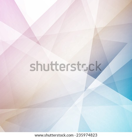 Bright geometrical abstract lines structure. Vector illustration - stock vector