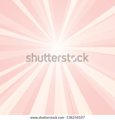 Bright light vector background. - stock vector