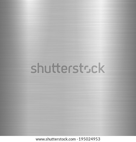 Bright metal background - stock vector