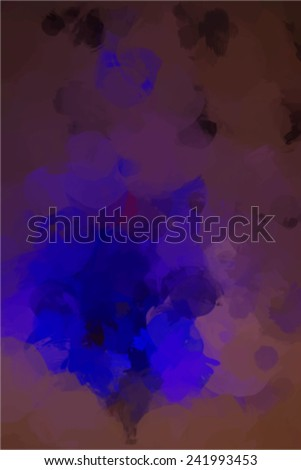 Bright neon blue background - stock vector