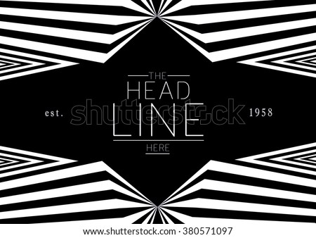 Brochure cover with background design/ Vector poster design/ Abstract background pattern/ Graphic design/ Book cover template/ Fashion and cosmetic magazine layout - stock vector