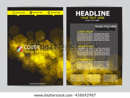 Brochure Design Templates. - stock vector