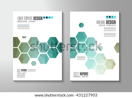 Brochure template, Flyer Design or Leaflet Cover for business presentation and magazine covers, annual reports and marketing generic purposes. - stock vector