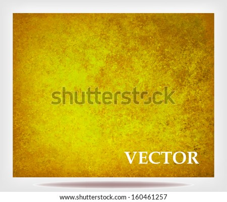 brown gold background vector of sponge vintage background grunge texture light solid design background, luxury Christmas gold wrapping paper concept, elegant formal layout for billboard or large sign - stock vector