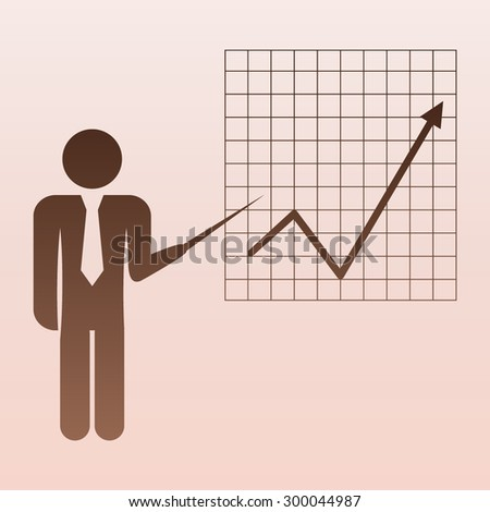 Brown Management, human resources, business persons and users  - stock vector
