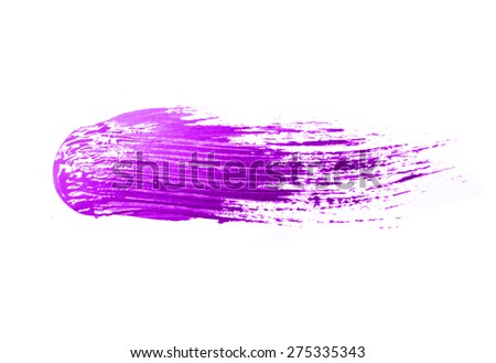 brush strokes -  backdrop for your text. vector - stock vector