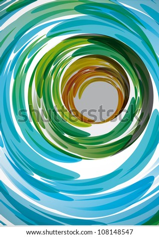 Brushes strokes. Abstract background. Eps10 .Image contain transparency and various blending modes - stock vector