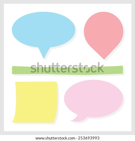 Buble Speech icon great for any use. Vector EPS10. - stock vector