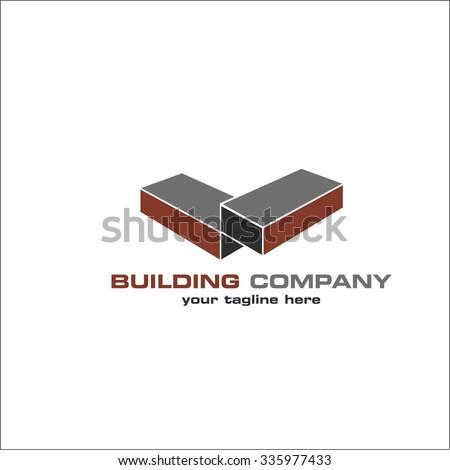Building company - stock vector