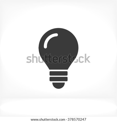 Bulb Icon - stock vector