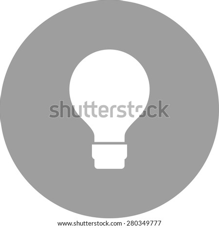 Bulb, light, energy saver icon vector image. Can also be used for energy and technology. Suitable for web apps, mobile apps and print media. - stock vector