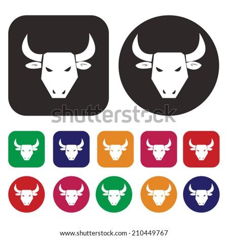 Bull Market / Stock market / Finance - stock vector