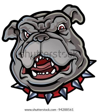 Bulldog Mascot - stock vector